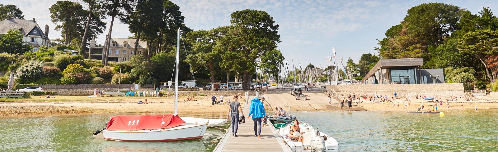 port et plage arradon