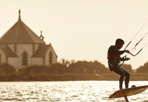 mickael mliliton en kite surf