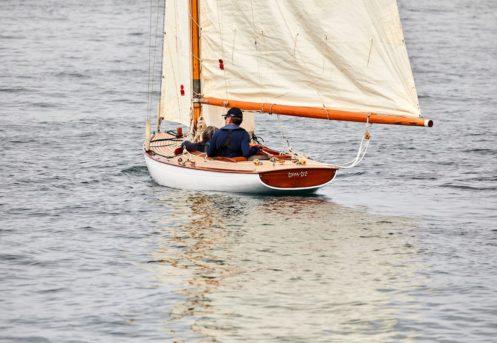 plaisancier en bateau